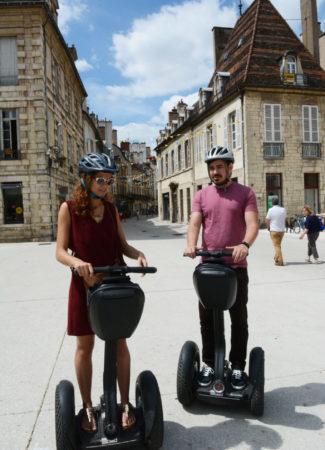 Visiting Dijon by Segway