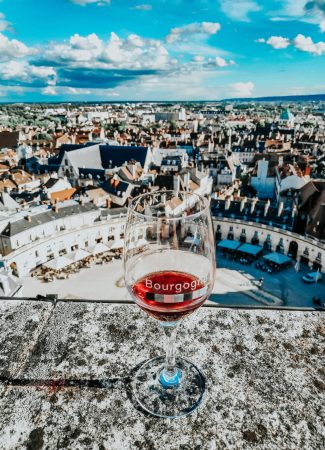 I rediscovered Volnay 46 metres off the ground!