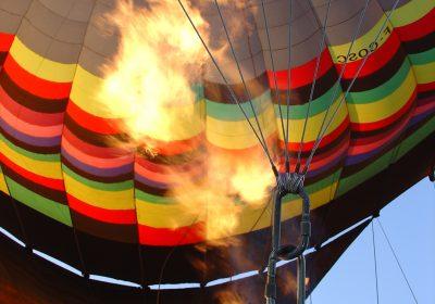 Survol de Dijon en montgolfière - 0