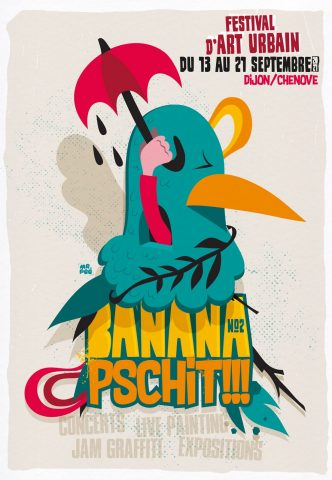 Banana Pschit – Urban art festival - 0
