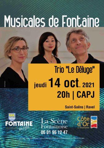 """Musicales de Fontaine : Concert du trio """" Le Déluge """" - 0"""