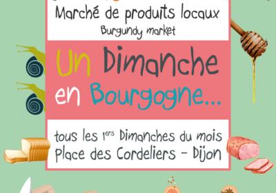 Un Dimanche en Bourgogne – Marché dominical – Promotion de produits locaux - 0