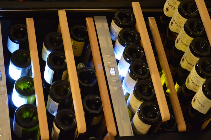 Caveau Vitrine vins