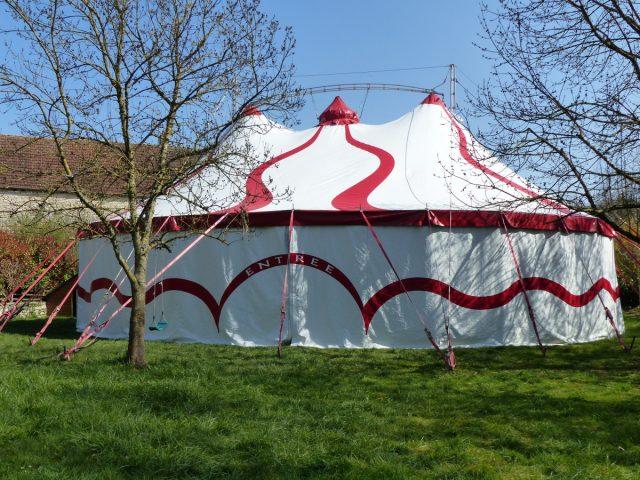 Chemin de Cirque de la cie Manie à Quetigny - 1
