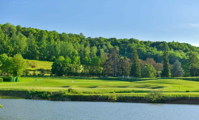 Golf Hole 18 a