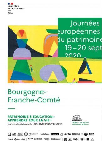 Journées Européennes du Patrimoine 2020 en Bourgogne Franche-Comté
