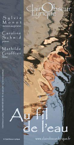 """Concert Flûte-Chant-Piano """"Au Fil de l'eau…"""" Mélodie Française et Italienne - 0"""