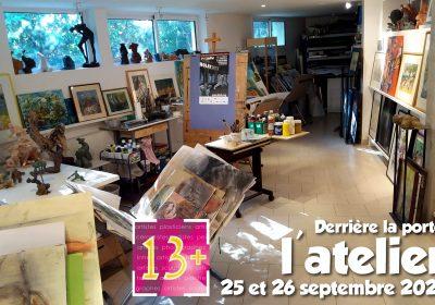 Ouverture d'ateliers d'artistes  : Derrière la porte l'atelier